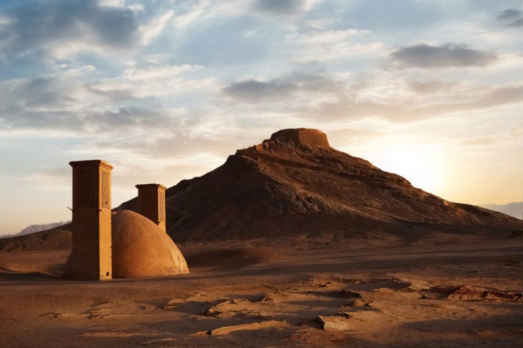 Írán - Věž ticha