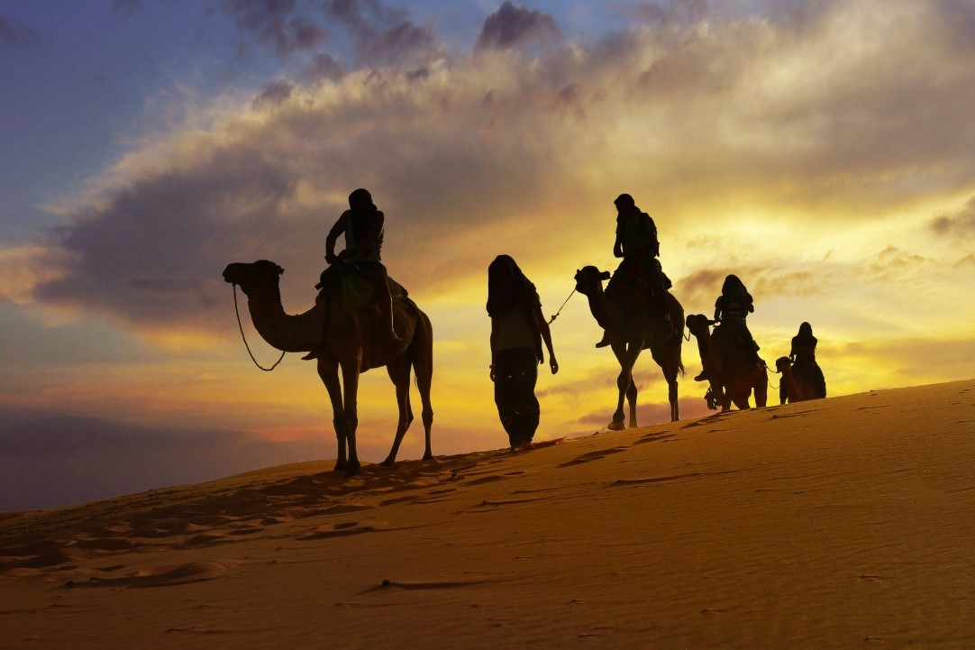 Saúdská Arábie - karavana